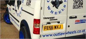 Outlaw Wheels Van
